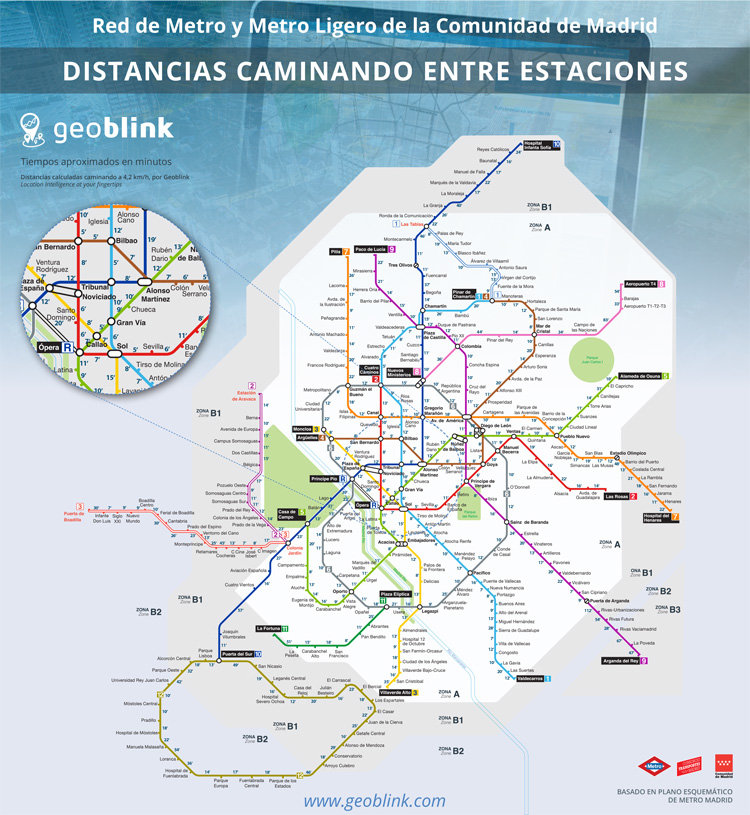 plano-metro-madrid-distancias-andando